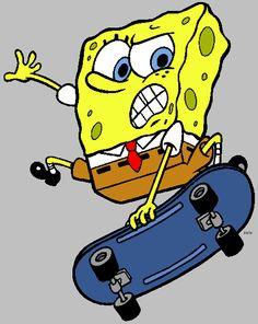 spongebob skateboard - my son's favorite Spongebob Friends, Spongebob Memes, Spongebob Squarepants, Spongebob Drawings, Spongebob Patrick, Garfield, Pineapple Under The Sea, Hypebeast Wallpaper