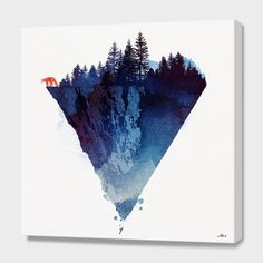 """Near to the edge"", Numbered Edition Canvas Print by Robert Farkas - From $89.00 - Curioos"