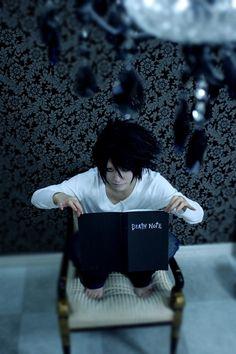 aaaaaahhhhh this is sooo good L cosplay, Death Note