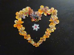Creative DIY crafts: Butterfly heartin with package cover!