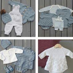 Tips til babydress/hentesett? Baby Patterns, Knitting Patterns Free, Free Knitting, Baby Knitting, Crochet Baby, Knit Crochet, Baby Barn, Baby Layette, Dere