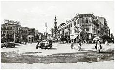 Nubar Pasha Street - Cairo in 1930's | by Tulipe Noire