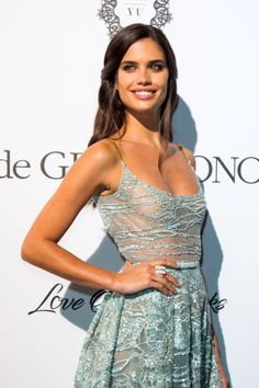 Sara Sampaio attends the De Grisogono 'Love On The Rocks' party during the 70th annual Cannes Film Festival on May 23, 2017.