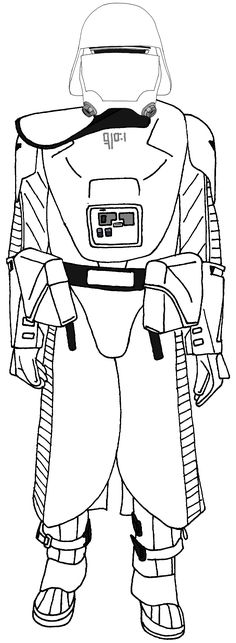 first order stormtrooper coloring pages - photo#16