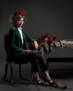 cool chic style fashion: Flower Girls   Irina Bordo   Fashion Gone Rogue