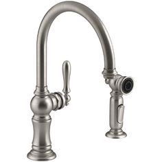 "Kohler Triton 4Hole Widespread Kitchen Sink Faucet With 8"" Multi Adorable 4 Hole Kitchen Faucet 2018"