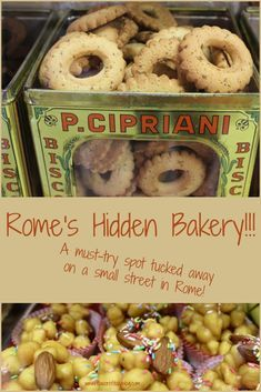 A special place to eat in Rome that tourists never find! A must-try, off the beaten track, great bakery in Rome with wonderful cookies, crostate and cakes made with all natural ingredients is the Cipriani Bicottificio! via @flavorofitaly
