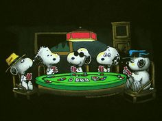 Peanuts- Snoopy Joe Cool Poker