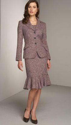 Farb-und Stilberatung mit www.farben-reich.com - dress, jacket, tweed