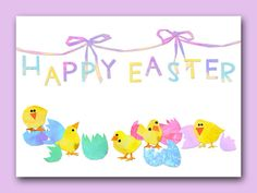 Wish you all a HAPPY EASTER! :0) by Marianne Degener on Etsy