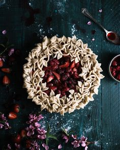 "5,905 Likes, 181 Comments - Kayley McCabe (@thekitchenmccabe) on Instagram: ""This Triple Berry Pie is new on the blog tonight! . http://thekitchenmccabe.com/2016/04/27/triple-…"""