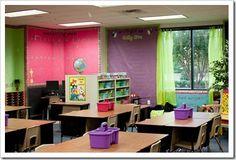 covering classroom walls