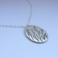 Silver Necklace by Yummy & Company