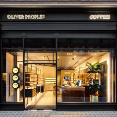 """9d0396cb953 Marmol Radziner on Instagram  """" oliverpeoples  first dedicated European  boutique on London s Sloane Street  understated luxe."""""""