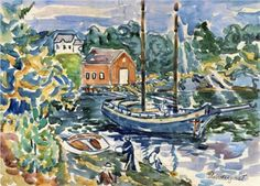 The Cove - Maurice Prendergast, c.1913-5
