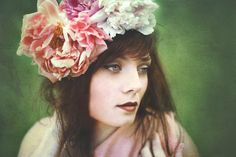 Having fun with texture. #green #flowers #portrait #paintinglike #moody #expressive #photography