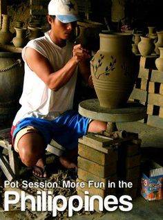 POT SESSION. More FUN in the Philippines! Philippines Tourism, Philippines Culture, Tourism Department, Pinoy, Places Around The World, More Fun, Slogan, Wanderlust, Bucket