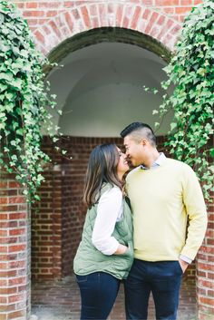 Longwood Garden's Engagements by Hillary Muelleck Photography // hillarymuelleck.com