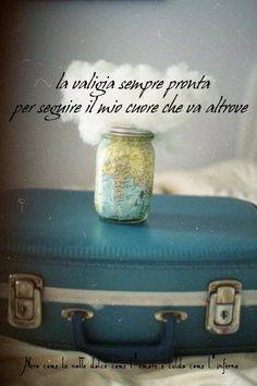 Nero come la notte dolce come l'amore caldo come l'inferno: La valigia sempre…