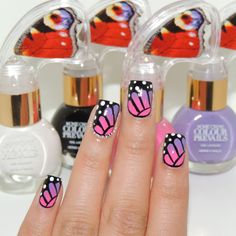 Nail Art Tutorial: Butterfly Nails