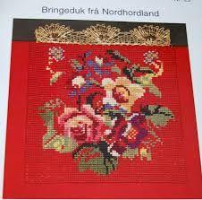 Bilderesultat for bringeduker til bunad Norway, Belts, Costumes, Cards, Decor, Hardanger, Pictures, Dekoration, Decoration