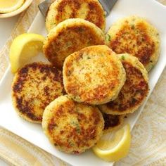 Easy Crab Cakes Recipe from Taste of Home -- shared by Charlene Spelock of Apollo, Pennsylvania
