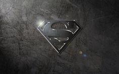 Steel Logo Wallpaper by SUPERMAN3D on deviantART