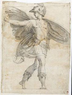Polidoro Caldara ¦ Perseo con la testa di medusa