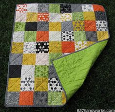 Comma Baby Boy Quilt | Flickr - Photo Sharing!