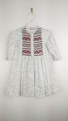 Marco & Lizzy Smocked Tunic  2T by Childrenswarehouse on Etsy