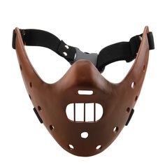 New Silence of the Lambs Hannibal Lecter Resin Mask Craft Halloween Gift-in Party Masks from Home & Garden on Aliexpress.com | Alibaba Group