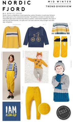 Autumn   Winter 2017 / 18 - Nordic Fjord - Trend Overview (Boys Girls)