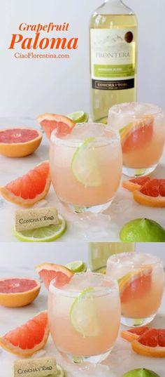 "Paloma Cocktail Recipe | <a href=""http://CiaoFlorentina.com"" rel=""nofollow"" target=""_blank"">CiaoFlorentina.com</a> @CiaoFlorentina"
