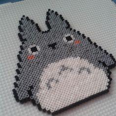 Totoro  hama perler beads by meishadecs
