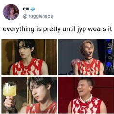 Funny Kpop Memes, Really Funny Memes, K Pop, Haha, Nct Dream Members, Fandom Memes, All The Things Meme, Soyeon, Vixx