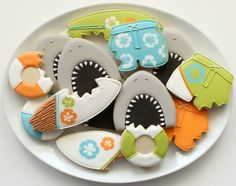 Shark Mouth Cookies