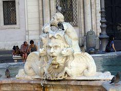 Piazza Navona (Bernini) (Rome)