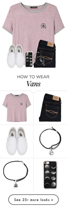 """""""One Of My Plain Tee+Jeans+Converse Sets Has 6,000+ Views😂😂"""" by twaayy on Polyvore featuring MANGO, Abercrombie & Fitch, Vans, Casetify and Alex and Ani"""