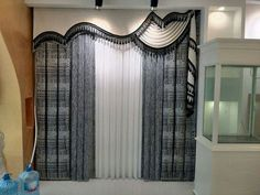 Trendy ideas living room modern classic window treatments in 2019 Classic Curtains, Elegant Curtains, Beautiful Curtains, Modern Curtains, Luxury Curtains, Home Curtains, Curtains Living, Curtains With Blinds, Window Drapes