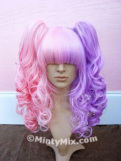 Cherry Kisses: ~ Lolita Twins ☆ MintyMix Wigs ~