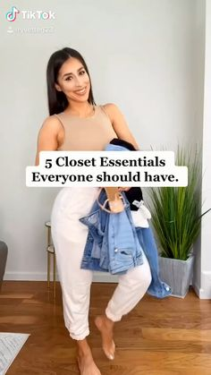 Casual Chic Outfits, Basic Outfits, Mode Outfits, Simple Outfits, Trendy Outfits, Simple College Outfits, Fashion Mode, Look Fashion, Fashion Design