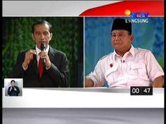 Debat Capres 15 Juni 2014 Jokowi Vs Prabowo - Pembangunan Ekonomi & Kese...