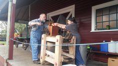 Old-fashioned cider press at the Snoqualmie Depot Halloween Train, Cider Press, Railway Museum, Train Rides, Fun, Home Decor, Decoration Home, Room Decor, Home Interior Design