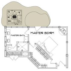 Love this master bedroom layout. #floorplan #masterbedroom