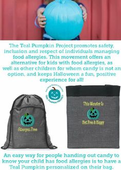 The Teal Pumpkin Project...Thirty-One Style! www.AnchoredBagsBySarah.com