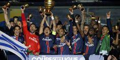 Foot - C.Ligue - PSG, les titres français pour oublier l'élimination en C1