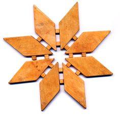 Trivets on Pinterest | Double Exposure, Juniper Wood and Solid Oak