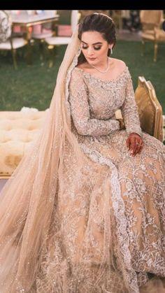 Pakistani Wedding Outfits, Pakistani Girl, Pakistani Bridal, Bridal Outfits, Bridal Dresses, Pakistani Actress, Wedding Dresses For Girls, Girls Dresses, Formal Dresses