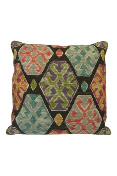 """Multi color pillow. Perfect addition to any space. 22 x 22"""".   Multi Color Pillow by The Birch Tree Furniture. Home & Gifts - Home Decor - Pillows & Throws Ohio"""