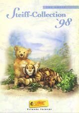STEIFF COLLECTION 1998 CATALOGUE - TEDDY BEARS PLUSH SOFT TOY ANIMALS etc EX CON